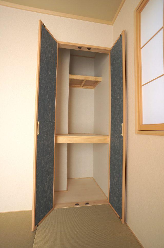 3号棟:和室の収納