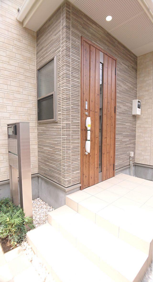 玄関のイメージです。